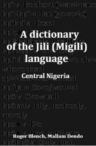 a dictionary of the jili migili language of central nigeria