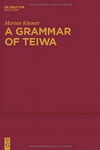 a grammar of teiwa