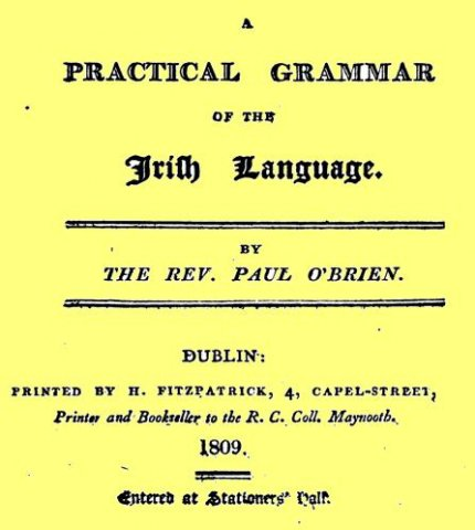 a practical grammar of irish language1