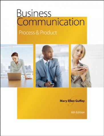 business communication process and product 6th edition