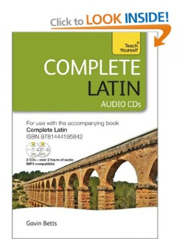 cd teach yourself complete latin 2014