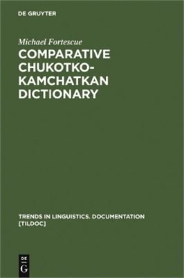 comparative chukotko-kamchatkan dictionary