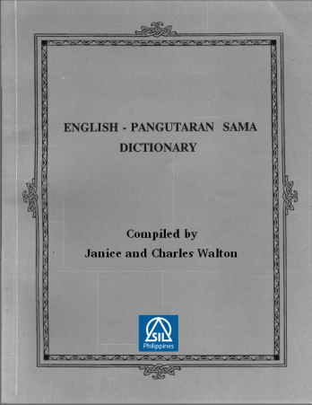 english - pangutaran sama dictionary