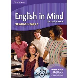 english in mind level 3 students book dvd-rom