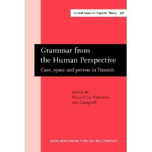 grammar from the human perspective case space and person in finnish