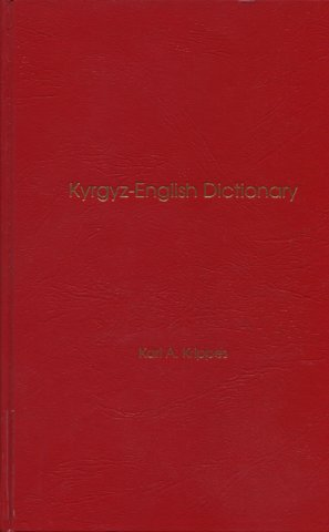 kyrgyz-english dictonary