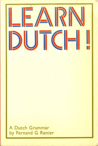 learn dutch a dutch grammar