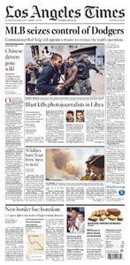 los angeles times 21 - 04 - 2011