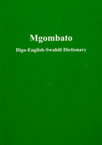 mgombato digo-english-swahili dictionary