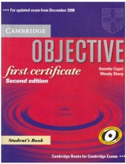 objective first certificate - second edition cd