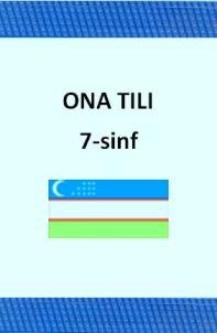 ona tili - uzbek language multimedia for school