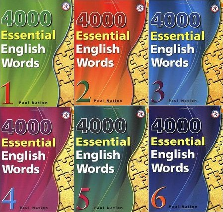 4000 essential english words all books