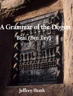 a grammar of the dogon of beni ben tey