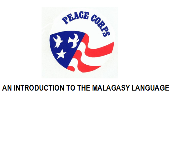 an introduction to the malagasy language
