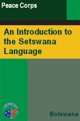 an introduction to the setswana language