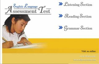 assessment english test interactive