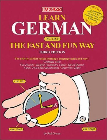 barrons learn german the fast and fun way