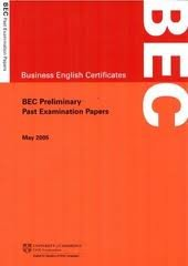 business english certificates bec preliminary past examination papers may 2005