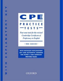 Cambridge Certificate of Proficiency Practice Tests with keys