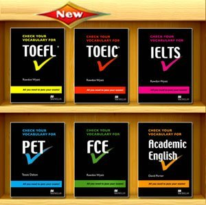 check your vocabulary series pet fce academic english ielts toeic toefl new edition 2008