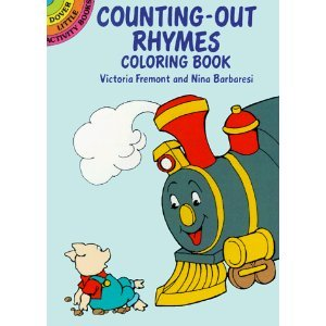 counting out rhymes coloring book