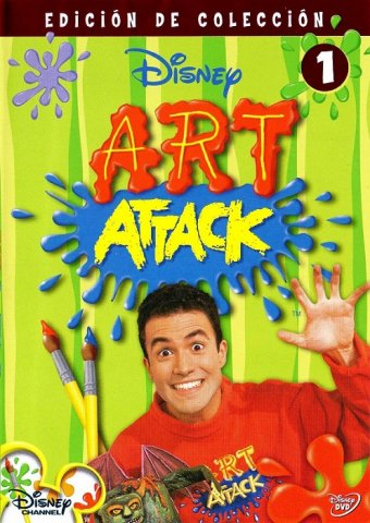 disney art attack vol 1 vol 2 2006 dvddvdrip