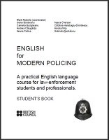 english for modern policing students book