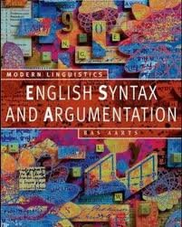 english syntax and argument