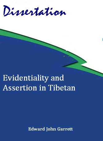 evidentiality and assertion in tibetan with tibetan standard script