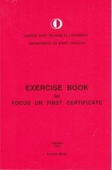 exercise book for focus on first certificate