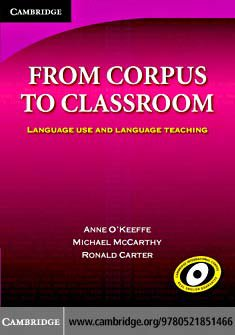 from corpus to classroom language use and language teaching