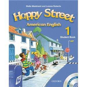happy street 1 student book with audio activity book poster and flashcard