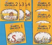 jolly phonics workbook set 7 books