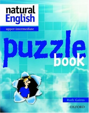 natural english puzzle book upper-intermediate