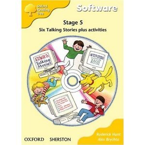 reading tree stage 5 - talking stories cd-rom
