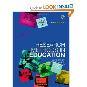 research methods in education sixth edition