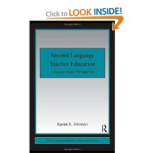 research on second language teacher education a sociocultural perspective on professional development esl applied linguistics professional series