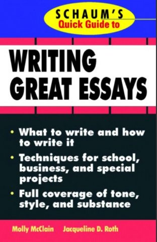 schaums quick guide to writing great essays