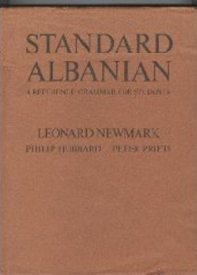 standard albanian - a reference grammar for students