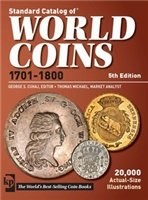 standard catalog of world coins 1701-1800 5th edition
