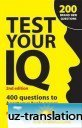 test your iq 400 questions to boost your brainpower 2nd edition