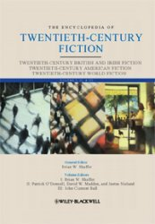 the encyclopedia of twentieth-century fiction wiley-blackwell encyclopedia of literature