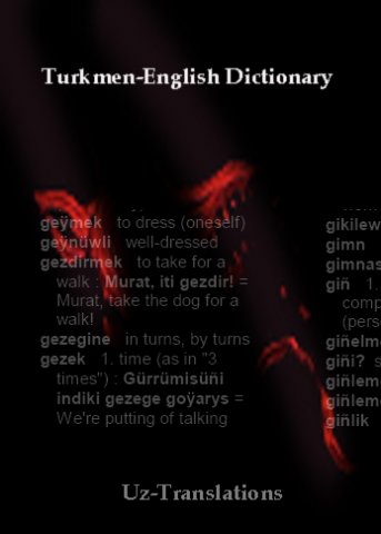 turkmen-english dictionary