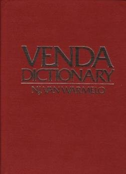 venda dictionary tshivenda-english