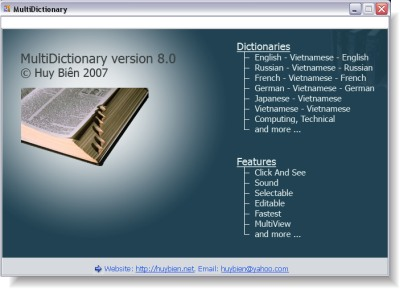 vietnamese multidictionary v8 0