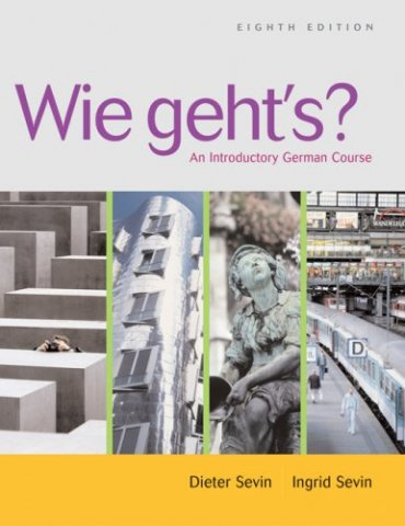 wie gehts an introductory german course 8 edition