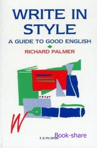 write in style a guide to good english